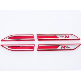 Passat B8.5 R Line Çamurluk Çıtası (Kırmızı)